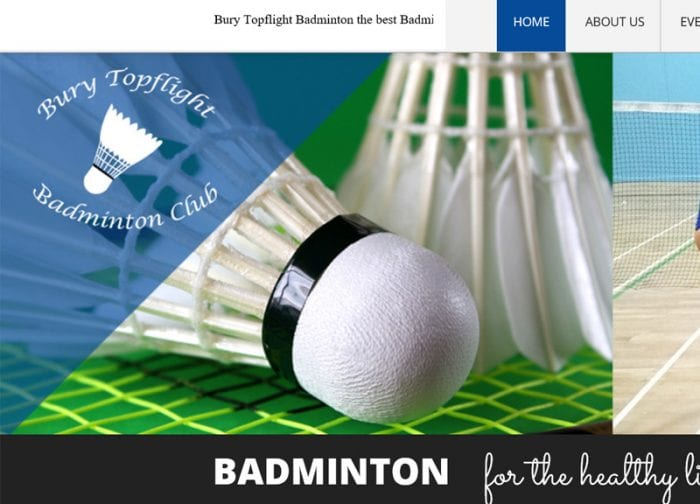 Bury Topflight Badminton